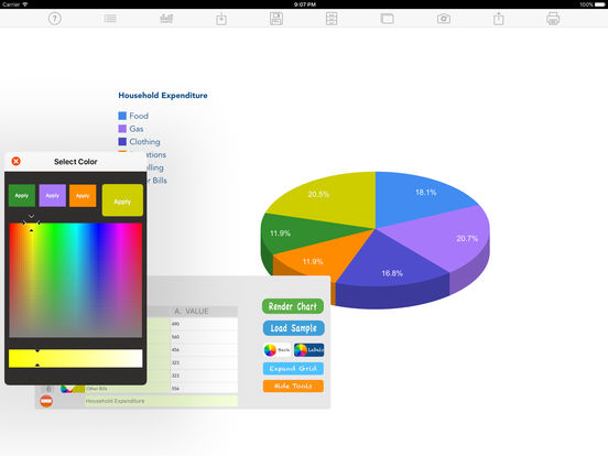 Knitting Chart Maker Ipad : Chart maker lt app store