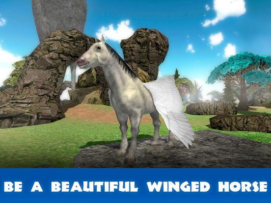 Pegasus Survival Simulator 3D Full screenshot 5