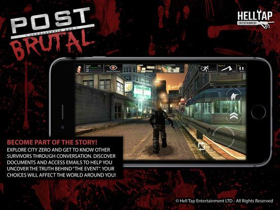 Скачать игру Post Brutal - Апокалиптические зомби действий RPG