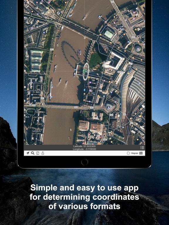 Coordinates - Calculate and Convert a Position Screenshots