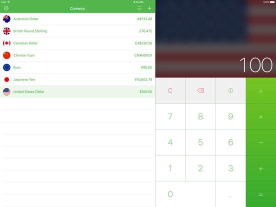 Currency iPad Screenshot 1