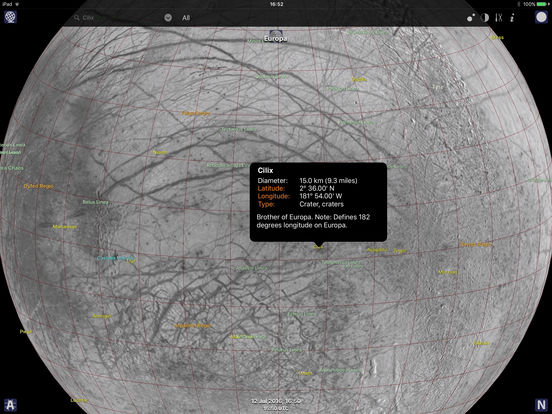 Jupiter Atlas iPad Screenshot 2