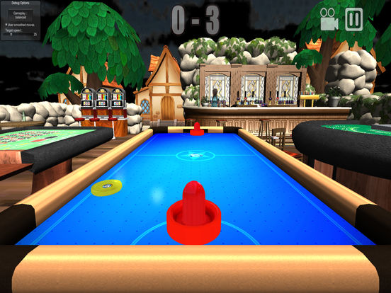 Air hockey hero на iPad