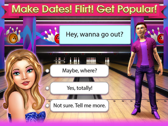 High School Life - Flirt, Dress Up, Date & Dance на iPad
