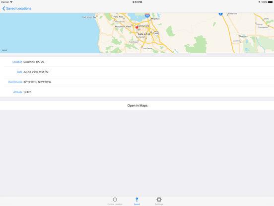 Current Altitude Free iPad Screenshot 2