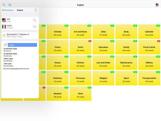 You Have Words Italian iPad Screenshot 5