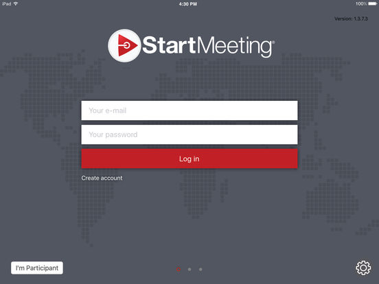 Start Meeting screenshot