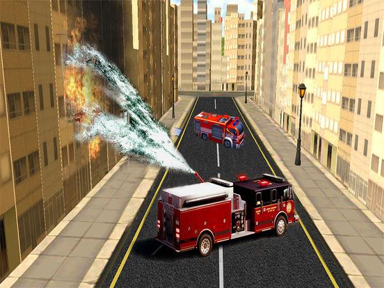 Fire Brigade Truck Simulator 2016 screenshot 8