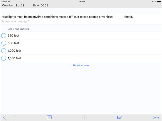 DMV Test Prep - Delaware iPad Screenshot 3