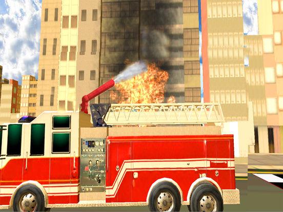 Fire Brigade Truck Simulator 2016 screenshot 10
