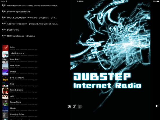 Dubstep - Internet Radio Free music streaming app! screenshot