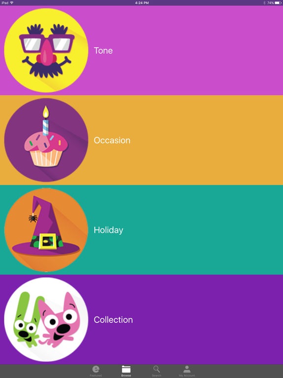 Hallmark eCards - Birthday Cards, Funny eCards, & Greeting Cards for Any Occasion screenshot