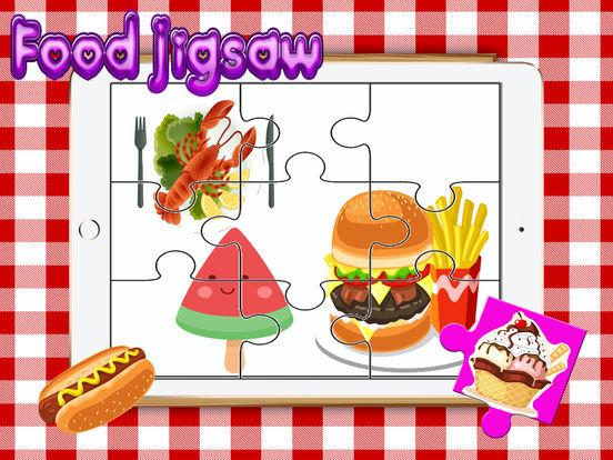 Food Yummy Головоломка для взрослых - Изучение Fruit паззлы игры бесплатно для малыша малышей и детей дошкольного Скриншоты5