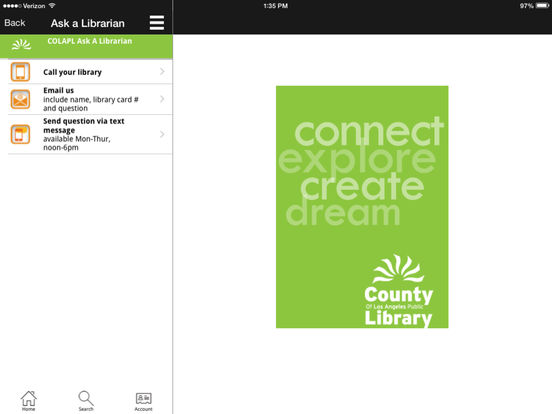 LACountyLib iPad Screenshot 5