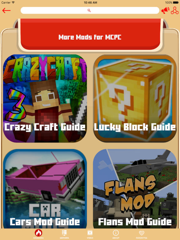 Screenshots of FURNITURE EDITION MODS GUIDE FOR MINECRAFT PC for iPad