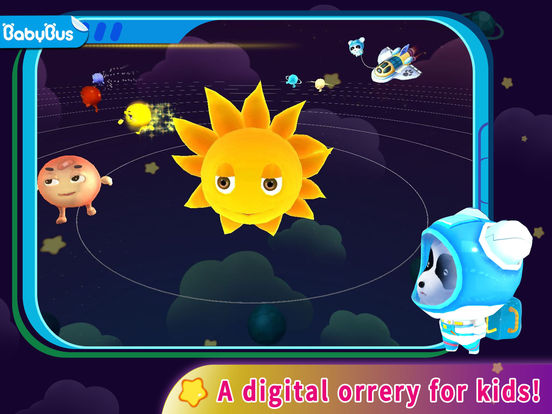 The Solar System by BabyBus Screenshots
