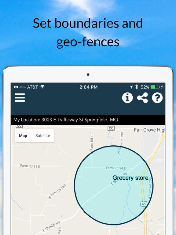 Chirp Phone Tracker - GPS Tracking screenshot
