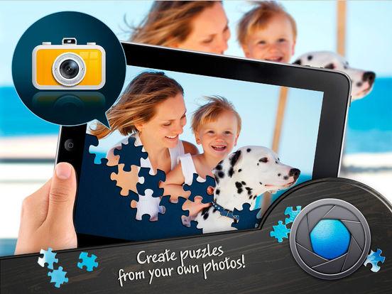 Screenshots of Magic Jigsaw Puzzles for iPad