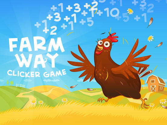 Farm Way - игра-кликер про забавных животных на iPad