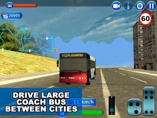 Public Transport Coach Bus Simulator 3D Full Screenshots