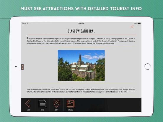 Glasgow: Travel Guide iPad Screenshot 3