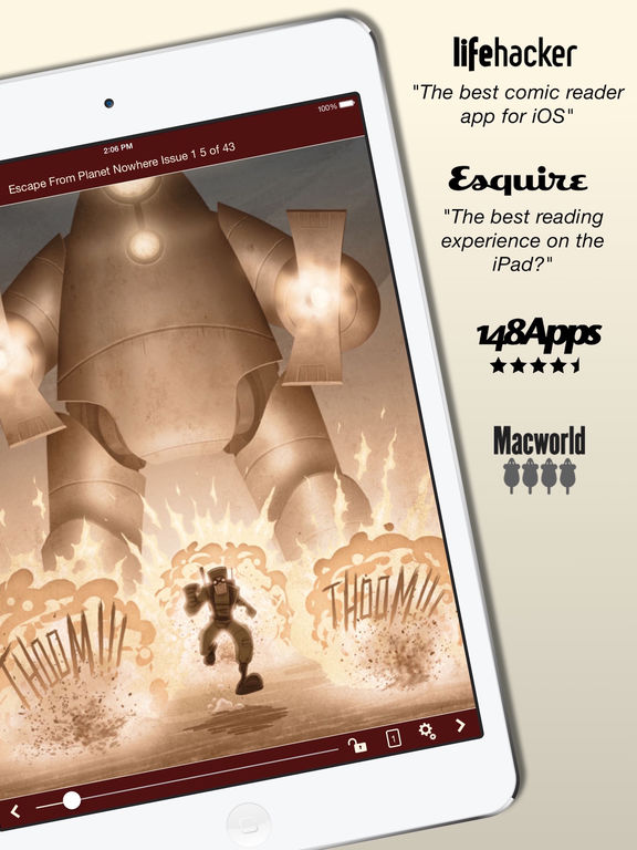 Comic Zeal Comic Book Reader screenshot