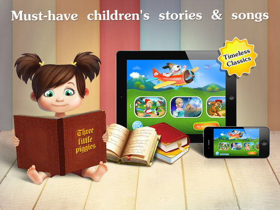 Early reading kids books - reading toddler games на iPad