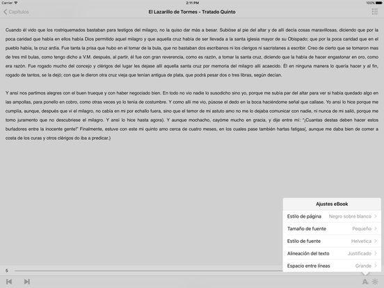 El Lazarillo de Tormes iPad Screenshot 1