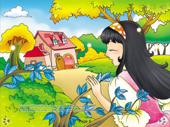 Snow White-Interactive Book-iBigToy iPad Screenshot 3