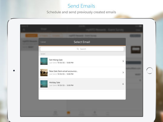 Salesforce Marketing Cloud screenshot