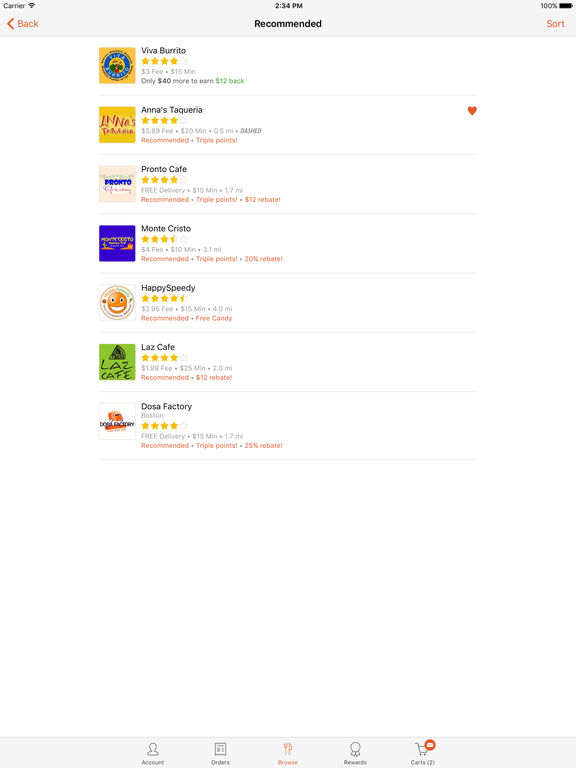 Foodler Order Food Delivery & Takeout screenshot
