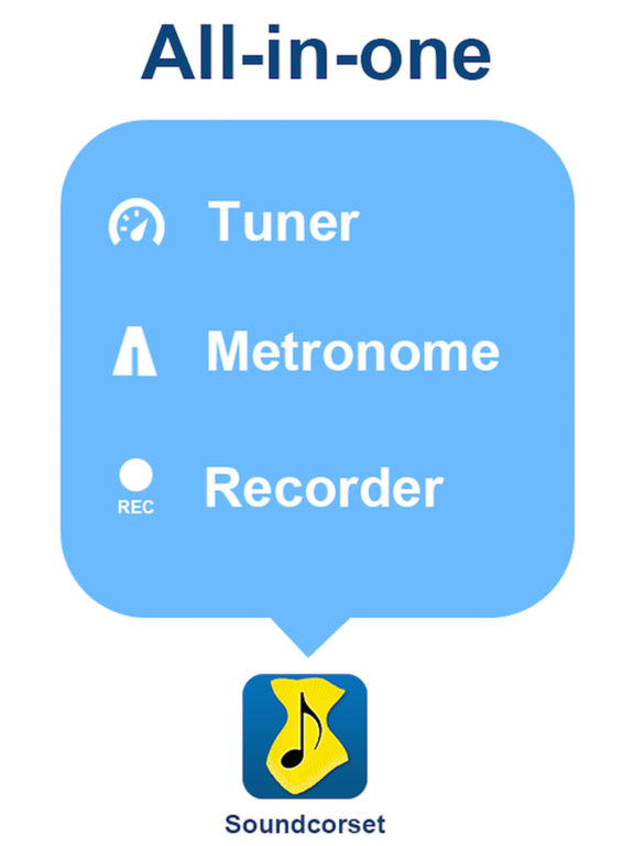 Tuner & Metronome - Soundcorset screenshot