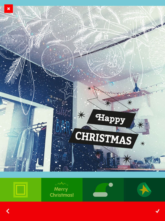Christmassy - Christmas and NY Stickers and Frames Screenshots