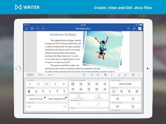 WPS Office Free: View and Edit PDFs, Documents, Spreadsheets and Presentations screenshot