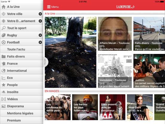 La Dépêche iPad Screenshot 2