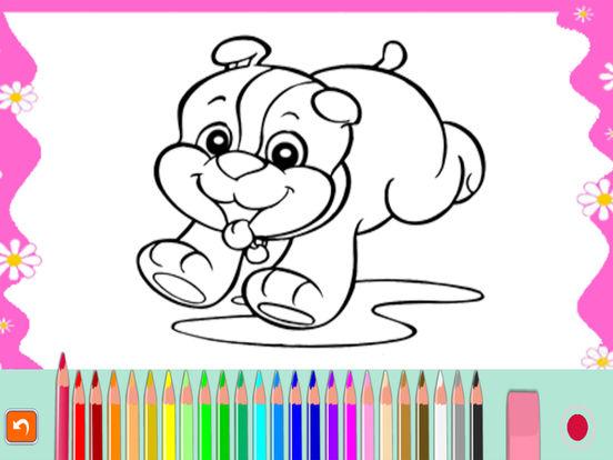 Мультфильм книжка-раскраска для малыша Скриншоты9