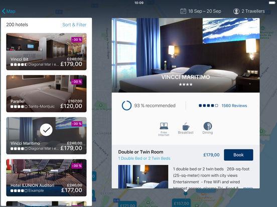 ebookers Travel: Hotels, Flights, Car Hire screenshot