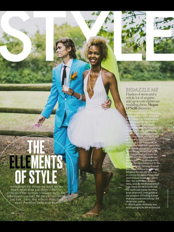 ELLE Magazine US screenshot