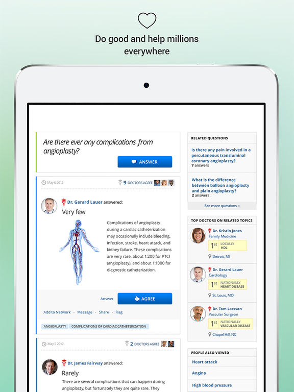 HealthTap for Doctors screenshot