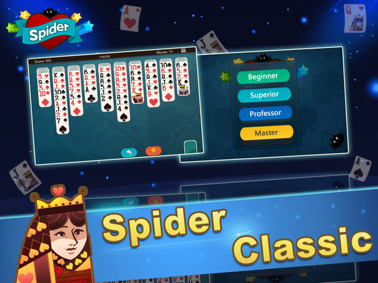 Ace Spider Unlimited Free HD iPad Screenshot 1