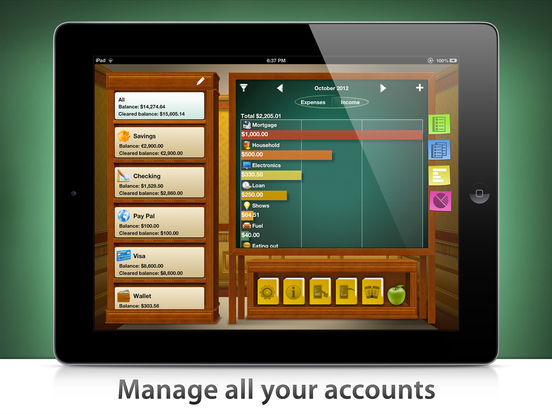 Checkbook HD Free - Personal Finance screenshot