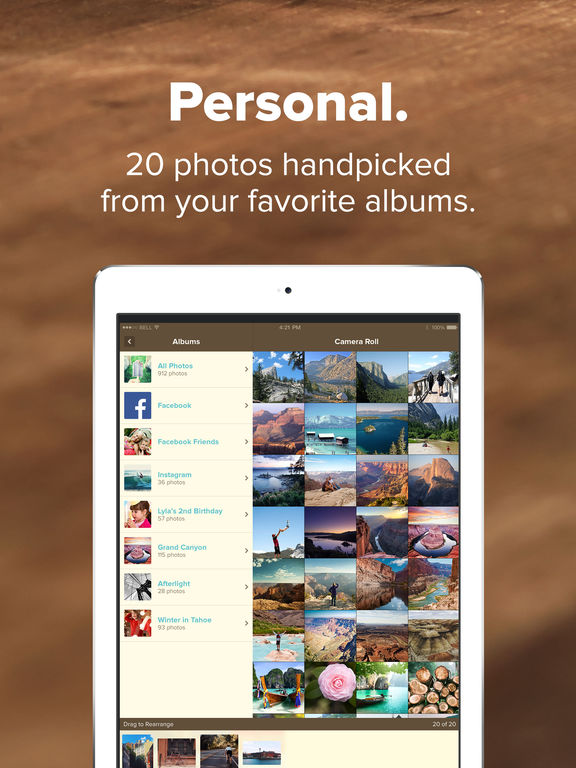 Mosaic Photo Books by Mixbook screenshot
