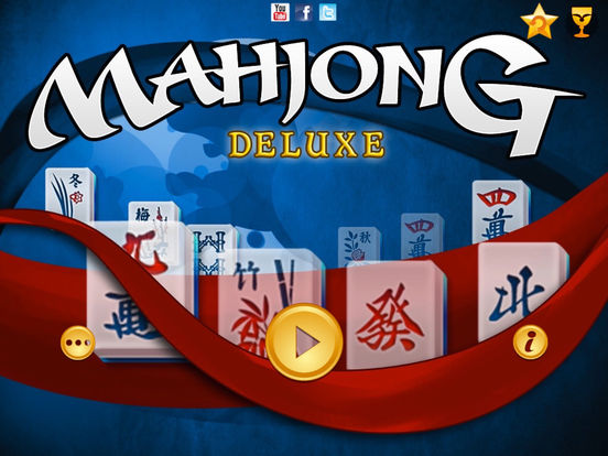 Mahjong Deluxe Free iPad Screenshot 1