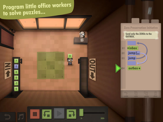 Puzzle Game Human Resource Machine For iOS Has First Sale
