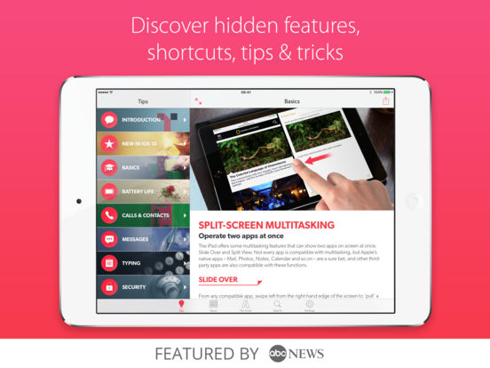 Tips & Tricks - iPad Secrets Lite iPad Screenshot 1