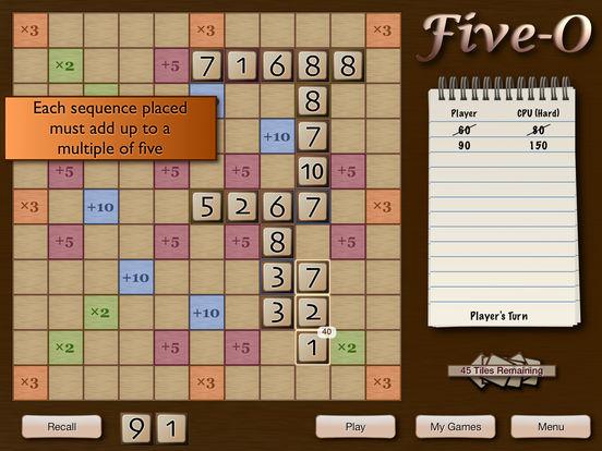 Five-O Lite iPad Screenshot 2