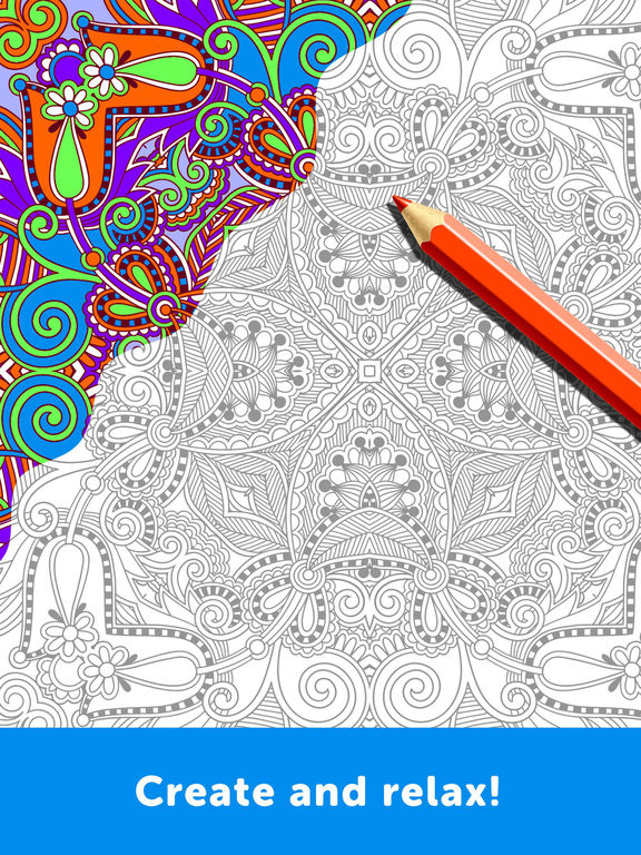 Adult Coloring Book - Coloring Book for Adults on the App Store