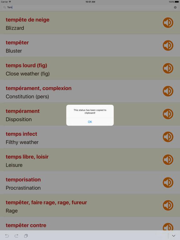 App shopper fran ais anglais dictionnaire gratuit pour for Application miroir pour ipad