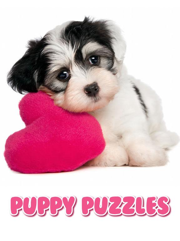 Щенки Собачки: Пазлы Для Детей и Малышей Бесплатно