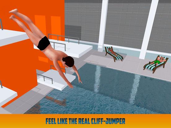 Cliff Flip Diving: Swimming Simulatorscreeshot 4